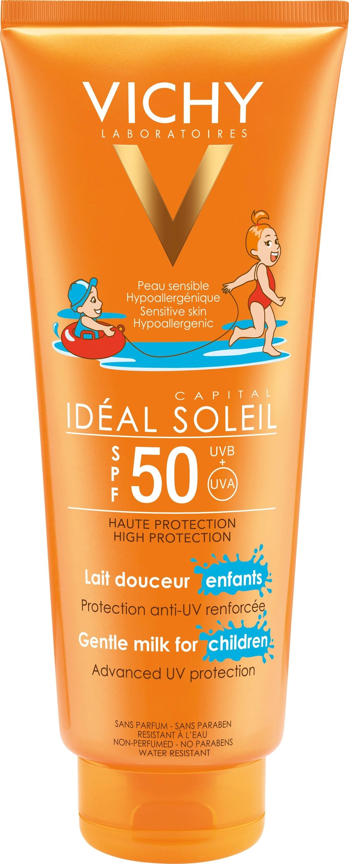 Vichy Ideal Soleil Gentle Milk For Children SPF50 300ml