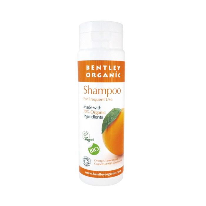Bentley Organic Natural Shampoo with Orange, Grapefruit, Lemon and Chamomile 250ml