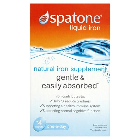 Spatone 100% Natural Iron Supplement - 14 Sachets