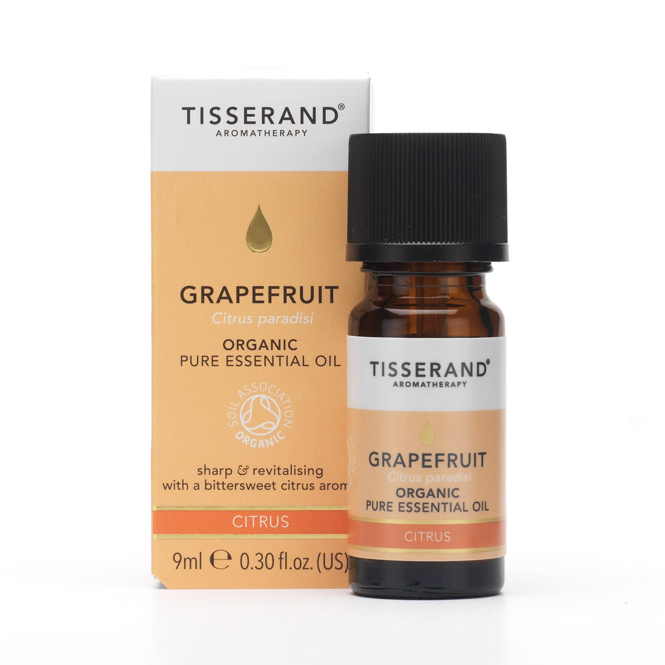 Tisserand Organic Grapefruit Essential Oil 9m