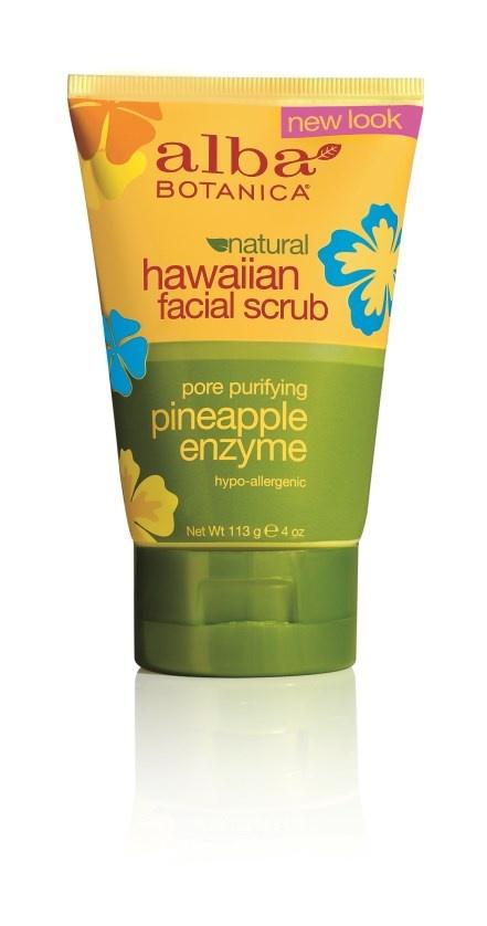 Alba Botanica Hawaiian Pineapple Enzyme Facial Scrub 118ml