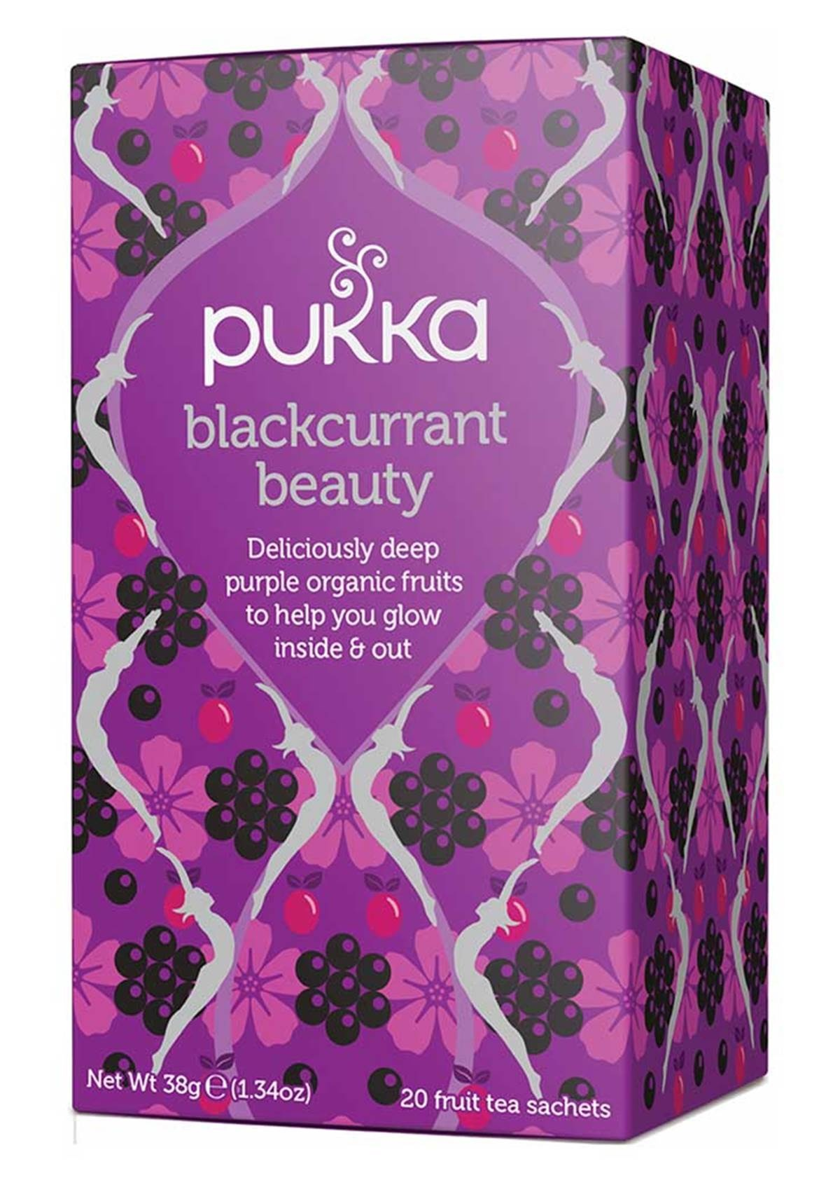 Pukka Blackcurrant Beauty Tea x 20 bags