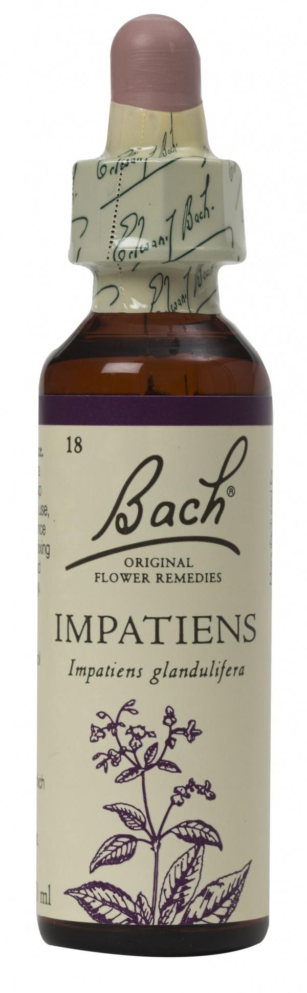 Bach Flower Remedy Impatiens 20ml