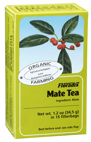 Floradix Mate Organic Herbal Tea 15 filterbags