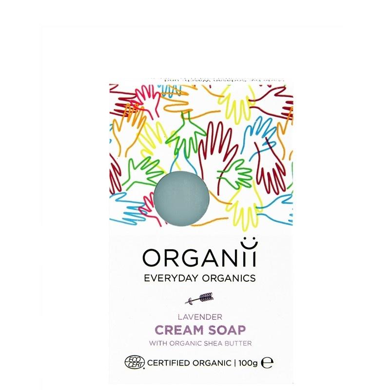 Organii Lavender Cream Soap 100g