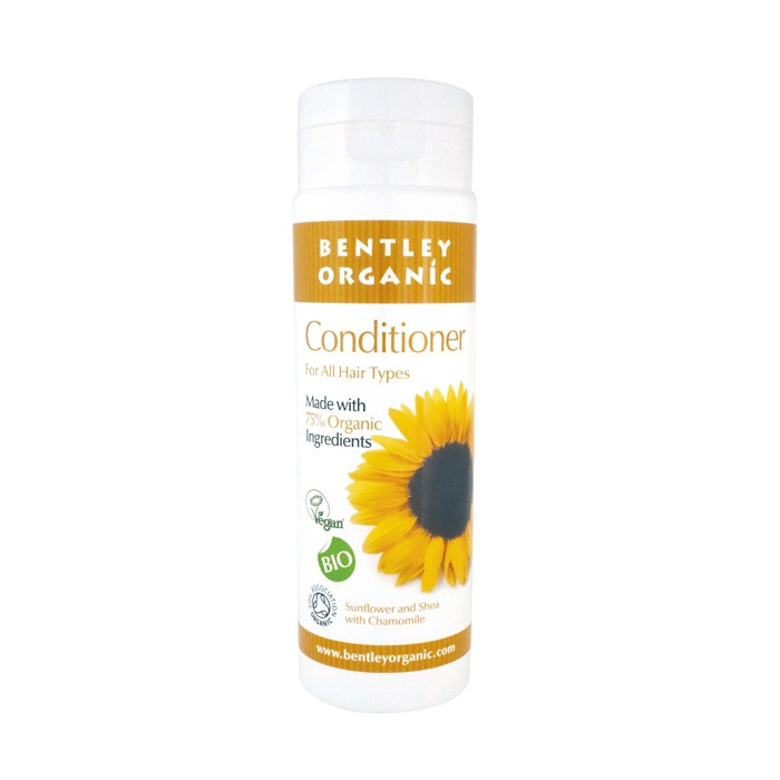 Bentley Organic Natural Conditioner with Sunflower, Shea and Chamomile 250ml