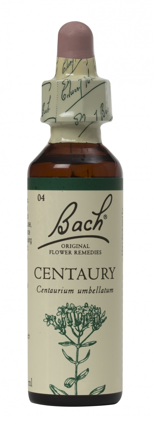 Bach Flower Remedy Centaury 20ml