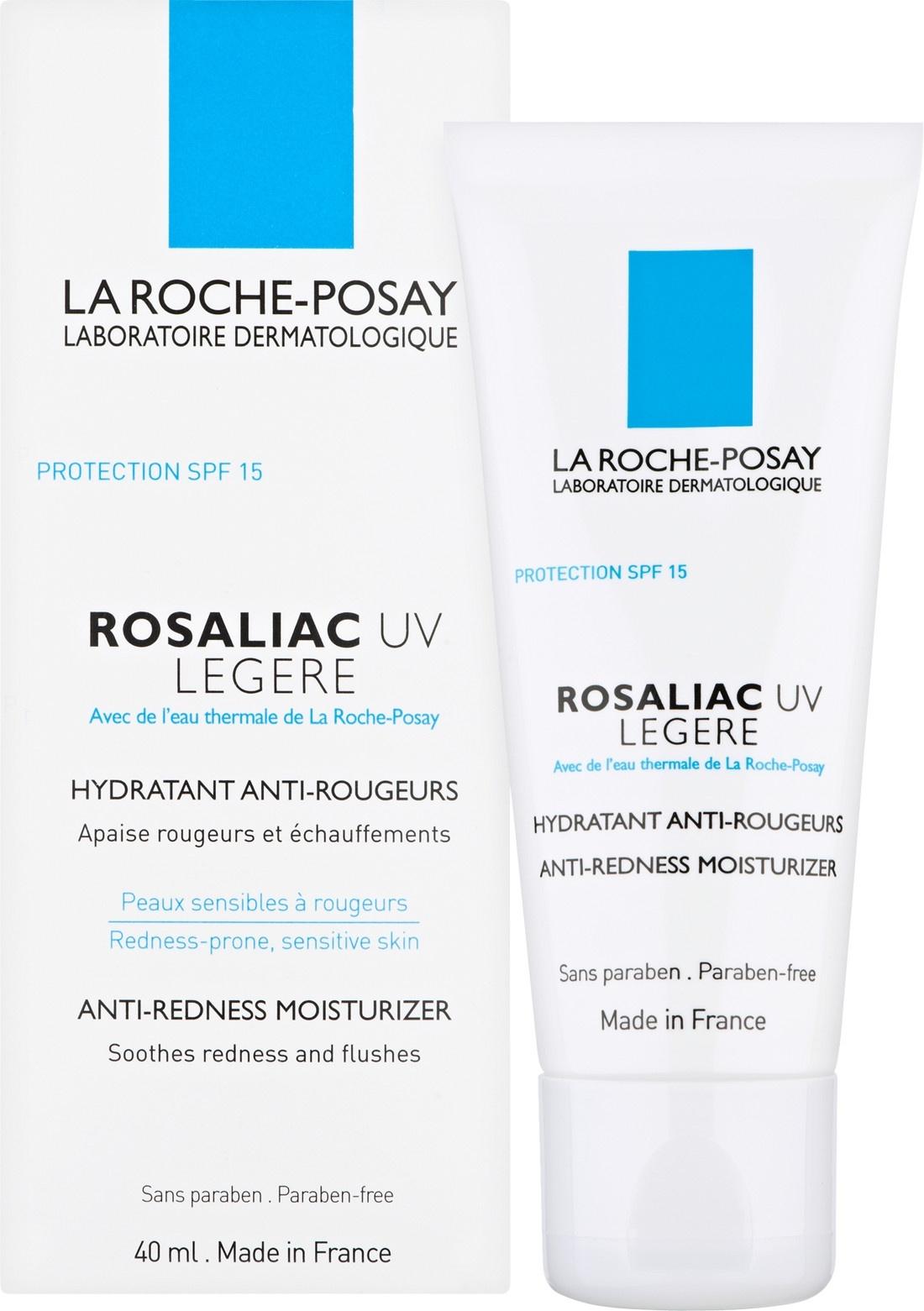 La Roche-Posay Rosaliac UV Legere Fortifying Anti-Redness Moisturiser SPF15, 40ml