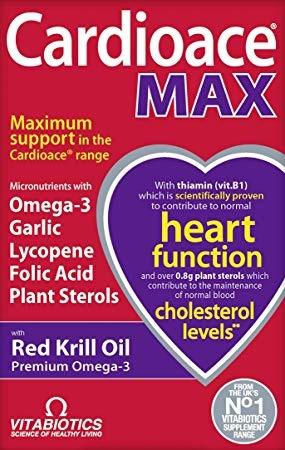 Vitabiotics Cardioace Max 84 Caps