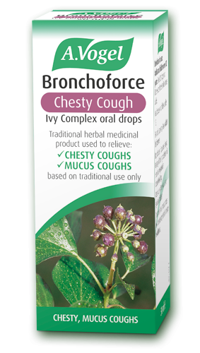 A. Vogel Bronchoforce Ivy Complex for Chesty Coughs 50ml