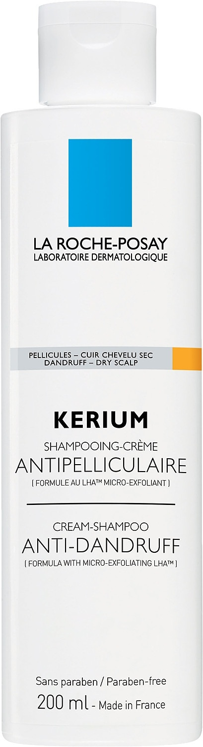 La Roche-Posay Kerium Cream Shampoo - For Dry Scalps 200ml