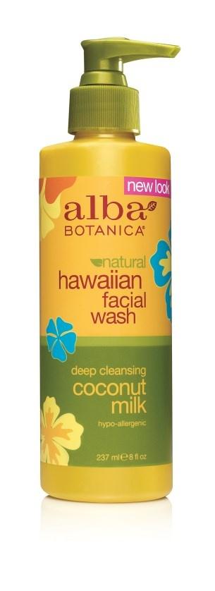 Alba Botanica Hawaiian Coconut Milk Facial Wash 230ml