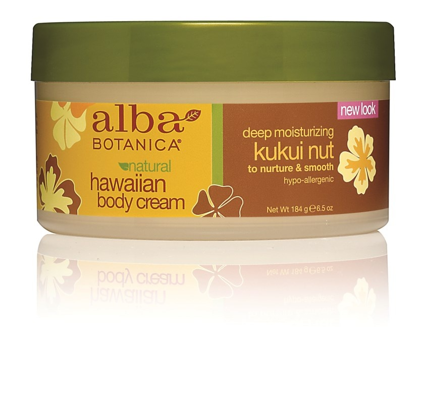 Alba Botanica Hawaiian Kukui Nut Body Cream 180g