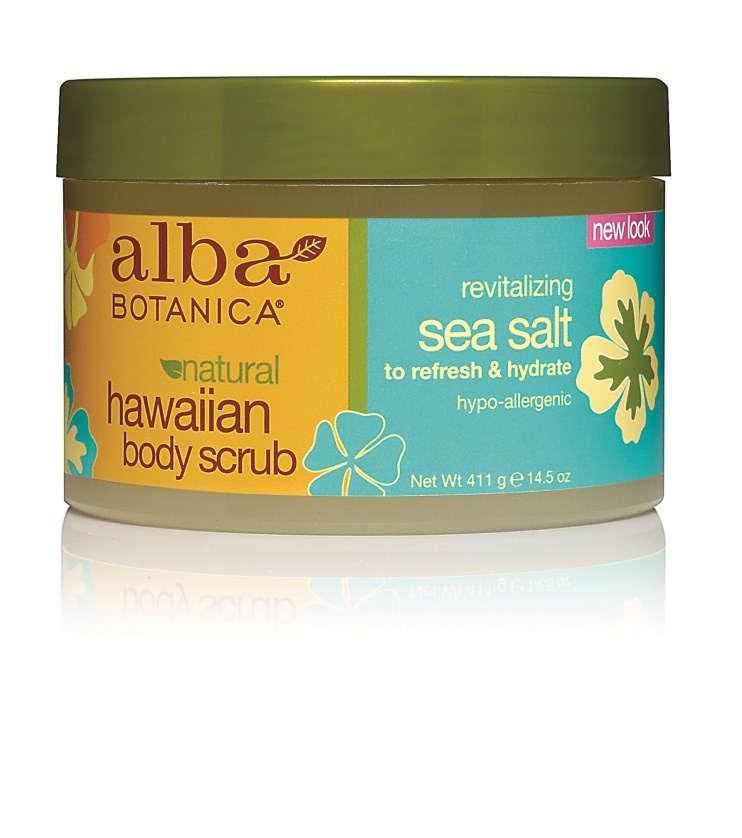 Alba Botanica Hawaiian Sea Salt Body Scrub 410g