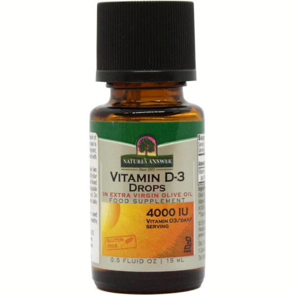 Nature's Answer Vitamin D3 Drops 15ml