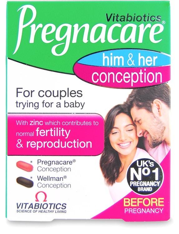 Vitabiotics Pregnacare His & Her 60 Tablets