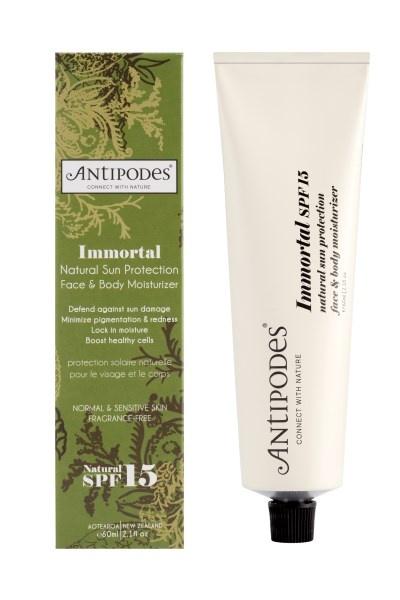 Antipodes Immortal Moisturiser SPF15 50ml