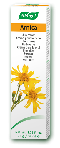 A vogel Arnica Skin Cream To support the skin