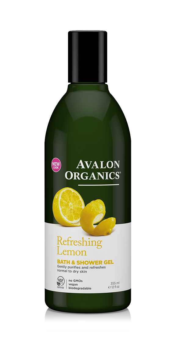 Avalon Organics Lemon Bath & Shower Gel 355ml
