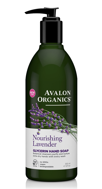 Avalon Organics Lavender Glycerin Hand Soap 355ml