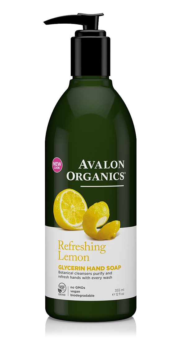 Avalon Organics Lemon Glycerin Hand Soap 355ml