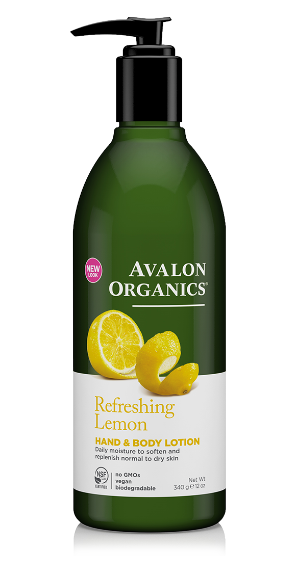 Avalon Organics Lemon Hand & Body Lotion 340g