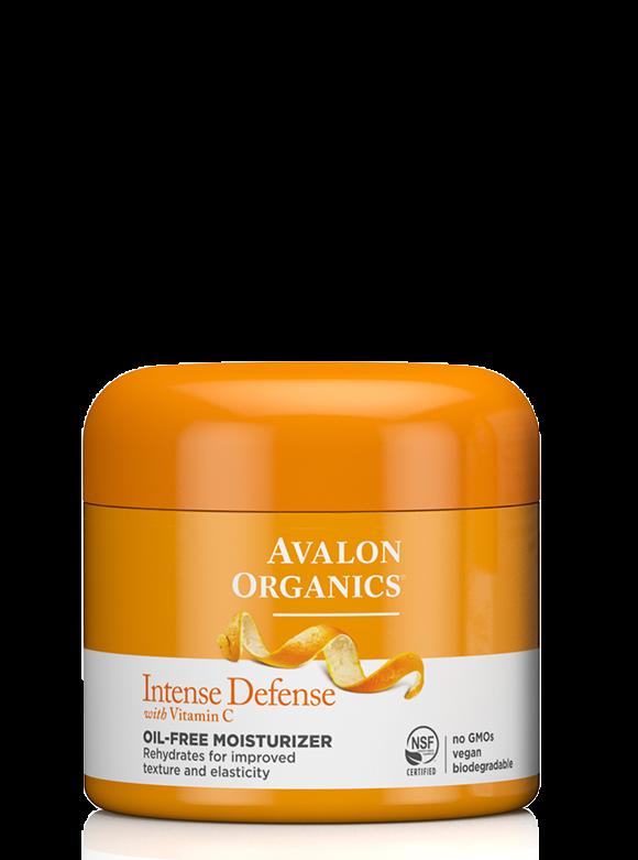 Avalon Organics Intense Defense with Vitamin C Oil-Free Moisturizer 57g