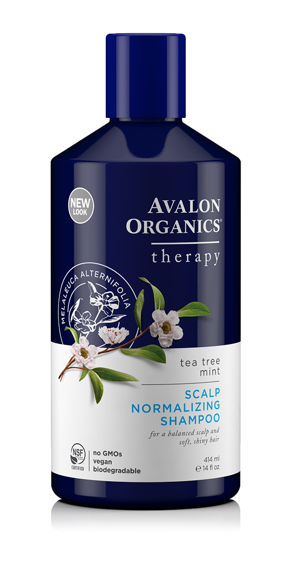 Avalon Organics Scalp Normalizing Tea Tree Mint Shampoo 414ml
