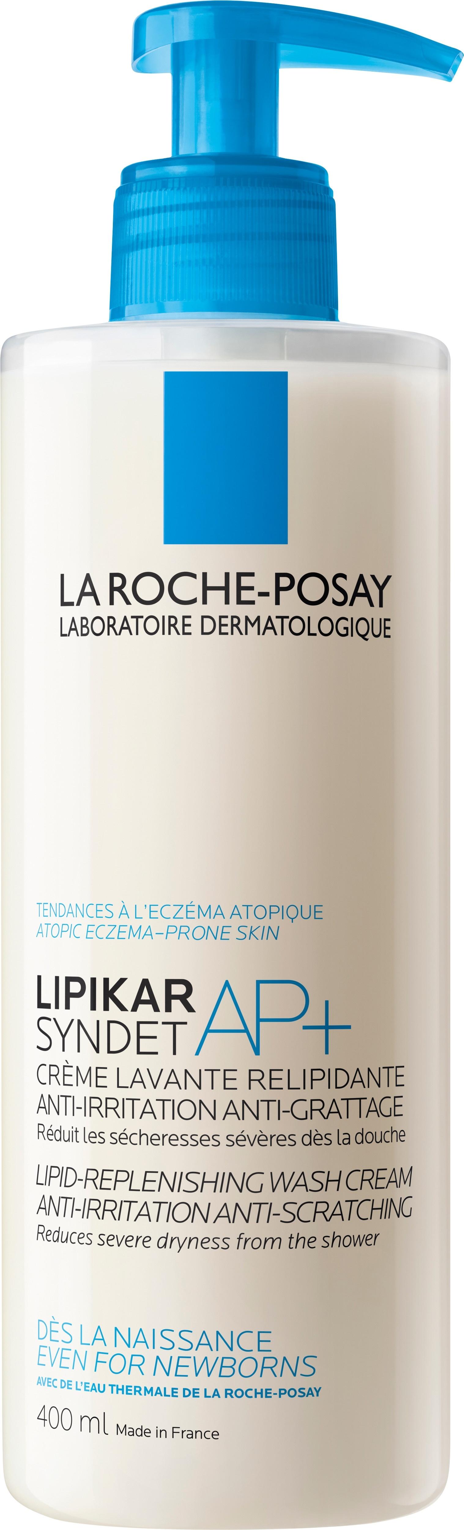 La Roche-Posay Lipikar Syndet AP+ - Lipid Replenishing Cream Wash 400ml