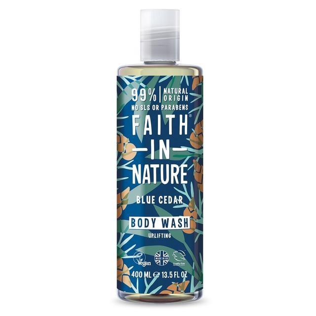 Faith in Nature For Men Blue Cedar Shower Gel 400ml