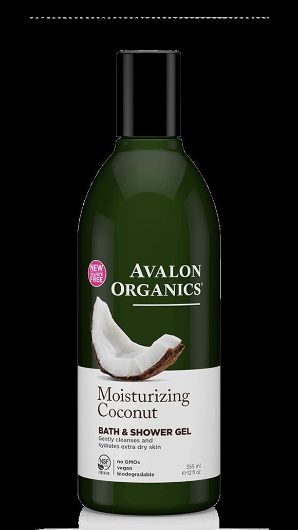 Avalon Organics Moisturizing Coconut Bath & Shower Gel 355ml