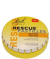 Bach Rescue Pastilles Orange & Elderflower 50g