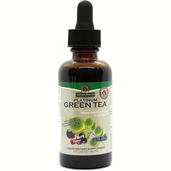 Nature's Answer Platinum Green Tea 60ml
