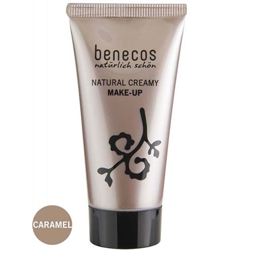 Benecos Natural Creamy Foundation - Caramel 30ml