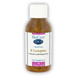 Biocare B Complex 30 Veg Capsules