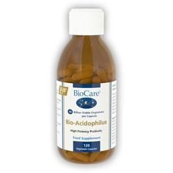 Biocare Bio-Acidophilus (10 billion per capsule) 120 Veg Capsules