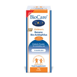BioCare Children's Banana Bio-Acidophilus 60g