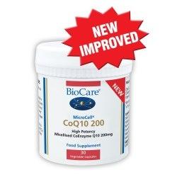 Biocare Microcell CoQ10 200 - 30 Capsules