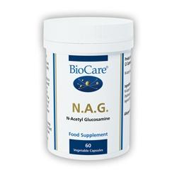 Biocare N.A.G (N-Acetyl-Glucosamine) 60 Veg Capsules
