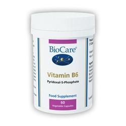 Biocare Vitamin B6 60 Veg Capsules