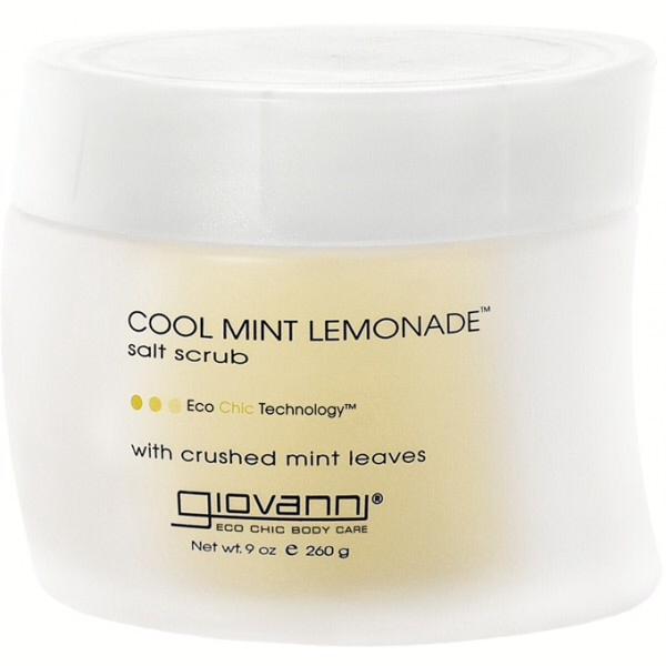 Giovanni Cool Mint Lemon Salt Scrub 260ml