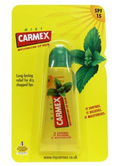 Carmex Mint Lip Balm Tube SPF15 10g
