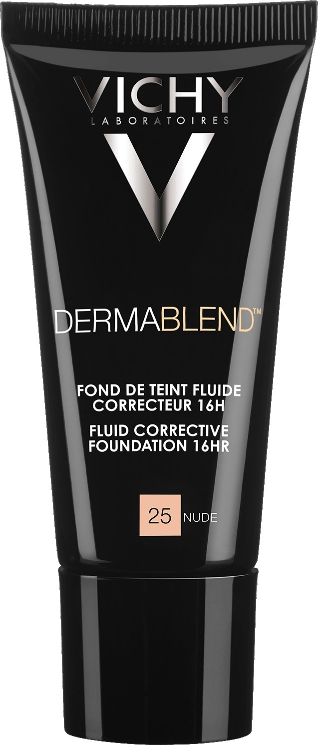 Vichy Dermablend Corrective Fluid Foundation 25 Nude 30ml