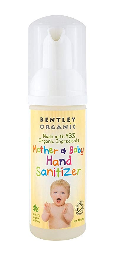 Bentley Organic Natural Mother and Baby Hand Sanitizer 50ml