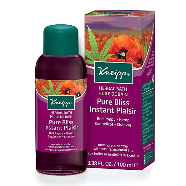 Kneipp Pure Bliss (Red Poppy & Hemp) Herbal Bath 100ml