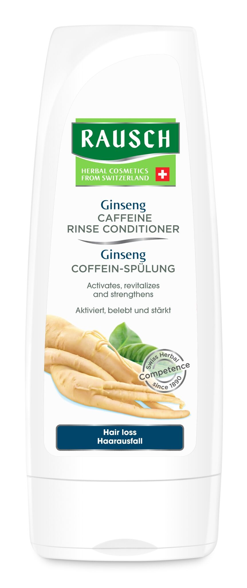 Rausch Ginseng Caffeine Rinse Conditioner for hair loss 200mL