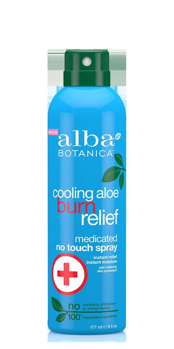 Alba Botanica Cooling Aloe Burn Relief Medicated Spray 177ml