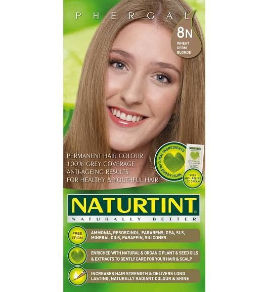 Naturtint Wheat Germ Blonde 8N Permanent