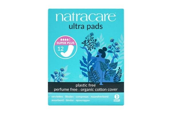 Natracare Ultra Super Plus Period Pads 12's