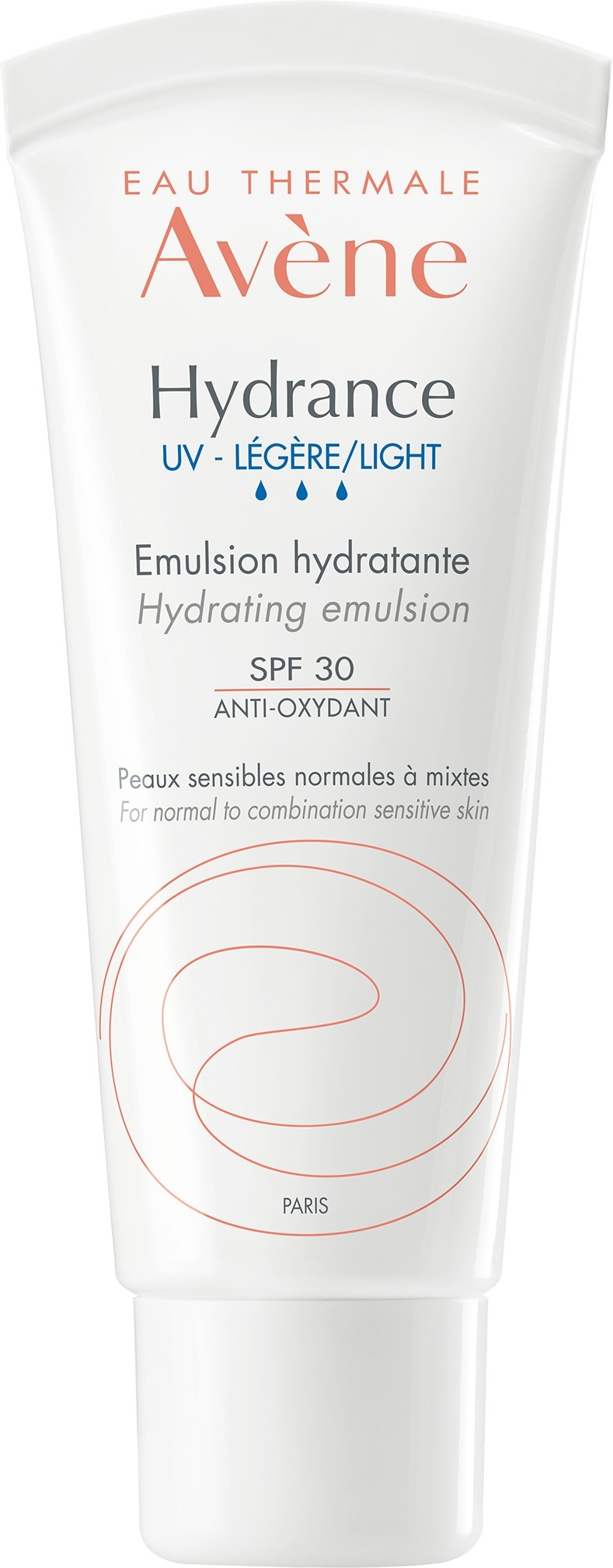 Avene Hydrance UV Light Hydrating Emulsion SPF30, 40ml